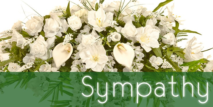 The House of Blooms Sympathy Collection